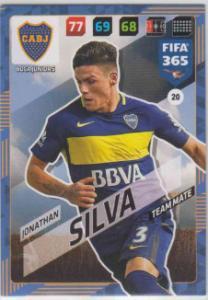 FIFA365 17-18 020 Jonathan Silva - Team Mate - Boca Juniors