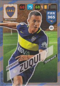 FIFA365 17-18 023 Fernando Zuqui - Team Mate - Boca Juniors