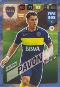 FIFA365 17-18 026 Cristian Pavón - Rising Star - Boca Juniors