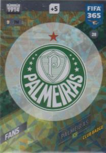 FIFA365 17-18 028 Palmeiras Badge - Club Badge - Palmeiras