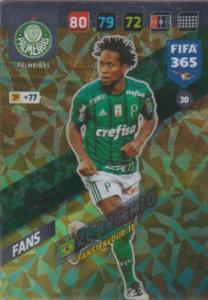 FIFA365 17-18 030 Zé Roberto - Fans' Favourite - Palmeiras