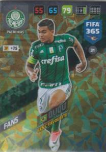 FIFA365 17-18 031 Dudu - Fans' Favourite - Palmeiras