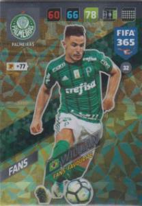 FIFA365 17-18 032 Willian - Fans' Favourite - Palmeiras