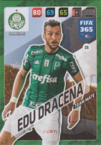 FIFA365 17-18 035 Edu Dracena - Team Mate - Palmeiras