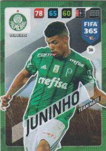 FIFA365 17-18 036 Juninho - Team Mate - Palmeiras