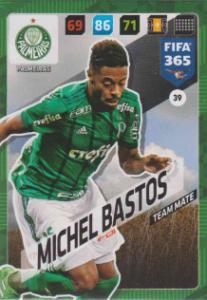 FIFA365 17-18 039 Michel Bastos - Team Mate - Palmeiras