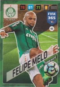 FIFA365 17-18 042 Felipe Melo - Team Mate - Palmeiras