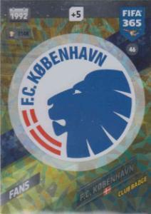 FIFA365 17-18 046 Club Badge FC København - Club Badge - FC København