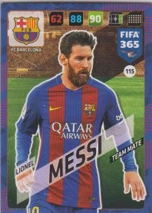 FIFA365 17-18 115 Lionel Messi - Team Mate - FC Barcelona