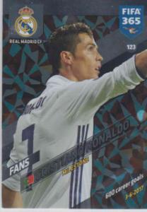 FIFA365 17-18 123 Cristiano Ronaldo - Milestone - Real Madrid CF