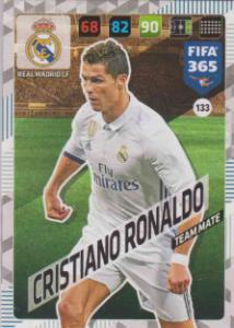 FIFA365 17-18 133 Christiano Ronaldo - Team Mate - Real Madrid CF