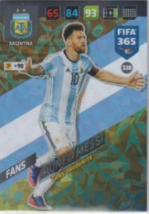 FIFA365 17-18 338Lionel MessiFans' Favourite Argentina