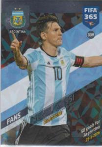 FIFA365 17-18 339Lionel MessiMilestone Argentina
