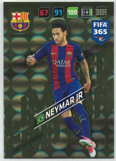 FIFA365 17-18 Neymar Jr, Limited Edition, FC Barcelona