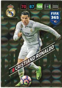 XXL FIFA365 17-18 Cristiano Ronaldo, XXL Limited Edition, Real Madrid CF (Stort kort / Large card)
