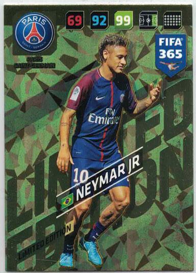 FIFA365 17-18 Neymar Jr, Limited Edition, Paris Saint-Germain