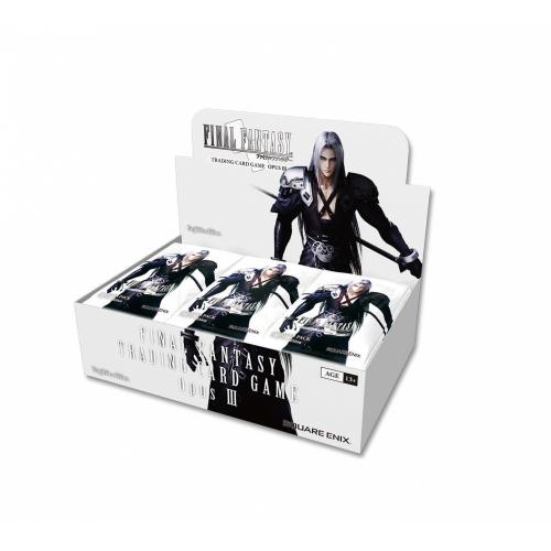 Booster Box, Final Fantasy TCG, Opus III