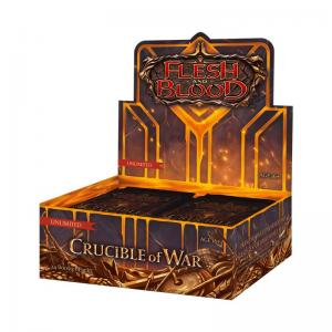 Flesh & Blood TCG - Crucible of War Unlimited Booster Display