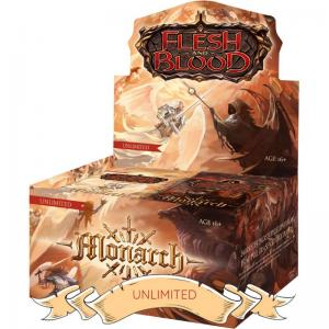 Flesh & Blood TCG - Monarch Unlimited Booster Display
