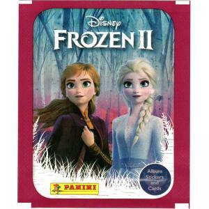 1st Paket (4 Klisterbilder + 1 kort) Panini Frozen II / Frost 2 Hybrid Collection (Klisterbilder)