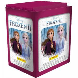 1 Box (50 Paket) Panini Frozen II / Frost 2 Hybrid Collection (Klisterbilder + Kort)