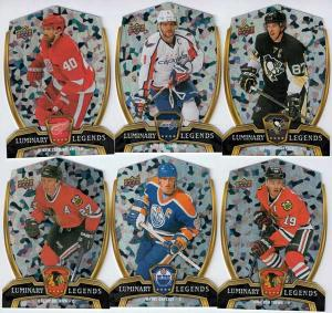 Helt Set ​2015-16 Upper Deck Overtime Luminary Legends (LL1-LL30)