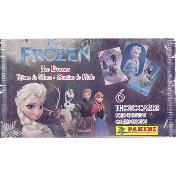 Frost / Frozen, Panini Photo Cards, 1 Paket