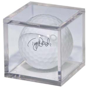 Mini-Figure and Golf Ball Clear Square Holder (Golfboll ingår inte)
