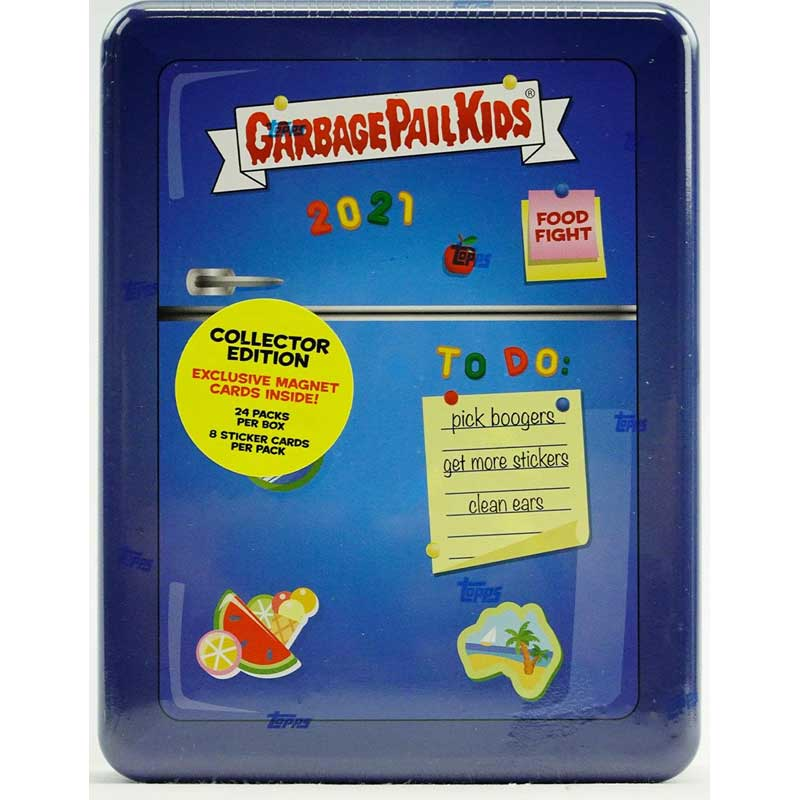 Sealed Box Garbage Pail Kids Food Fight Series 1 Hobby Collectors Edition (Topps 2021)