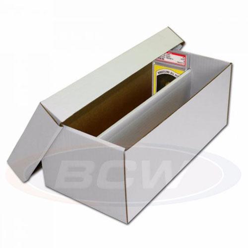 Papplåda för graderade kort (2 rader) / Graded Shoe Box (Skickas endast med DHL pga storlek)