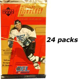 24 Packs, 2000-01 Upper Deck DEL