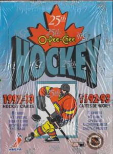 Sealed Box 1992-93 O-Pee-Chee