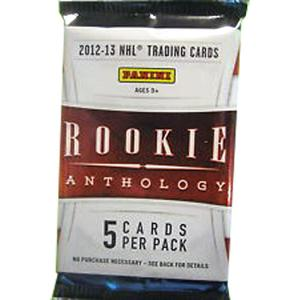 1st Paket 2012-13 Panini Rookie Anthology