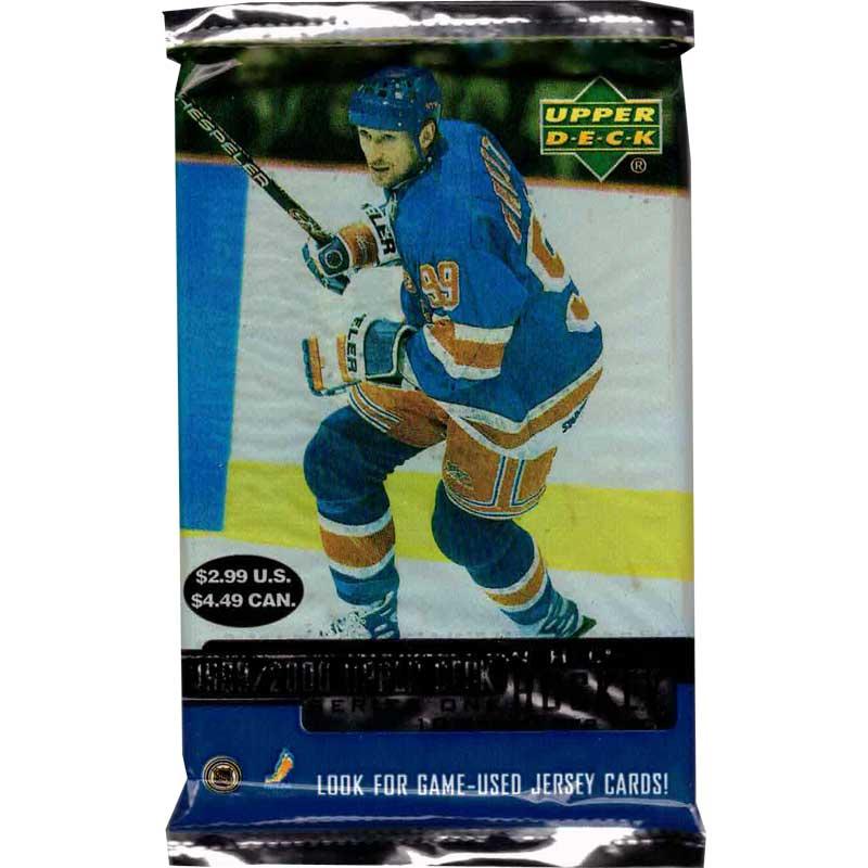 1st Paket 1999-00 Upper Deck Serie 1 Retail