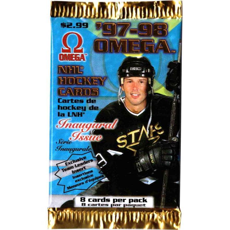 1st Paket 1997-98 Pacific Omega Retail