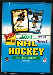 Hel Box 1991-92 Score serie 2, English Edition