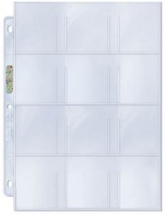 "12-Pocket Platinum Page with 2-1/4"" X 2-1/2"" [5.715 x 6.35cm] Pockets"