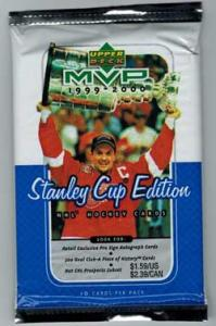 1 Pack 1999-00 MVP Stanley Cup Edition Retail