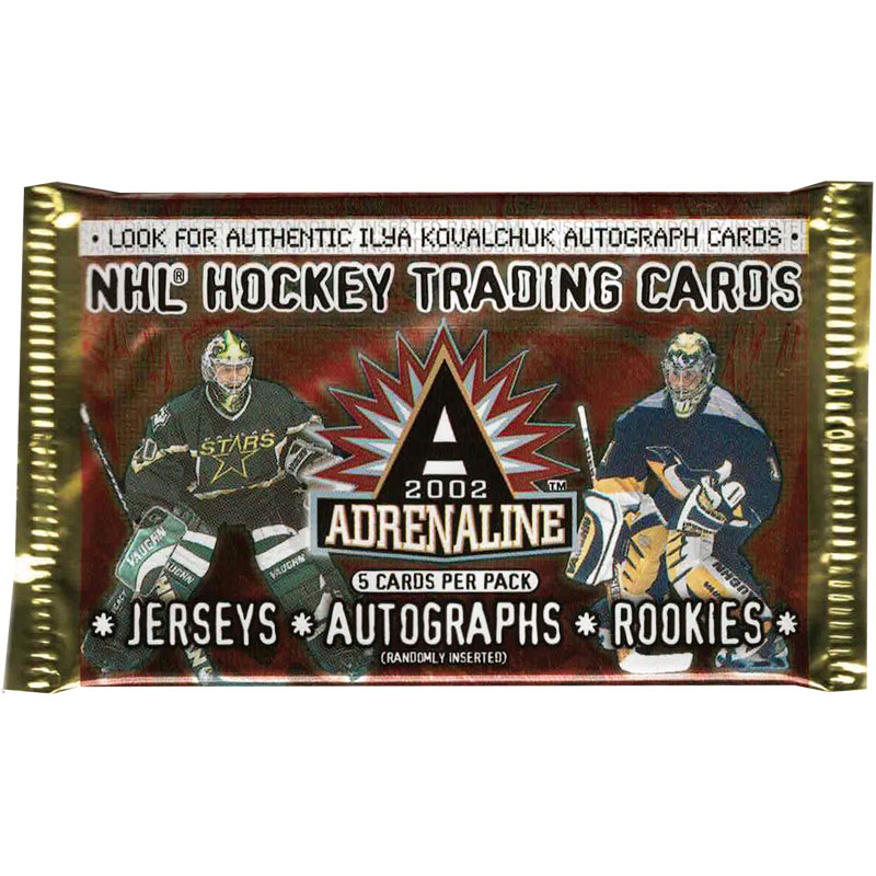 1 Pack 2001-02 Pacific Adrenaline Hobby