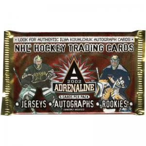 1 Pack 2001-02 Pacific Adrenaline Hobby