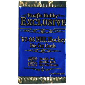 1st Paket 1997-98 Pacific Crown Royale Hobby (Canada)
