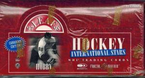 Sealed Box 1997-98 Leaf International Stars - Canadian Edition