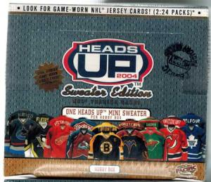 Hel Box 2003-04 Pacific Heads Up Hobby - Sweater Edition!