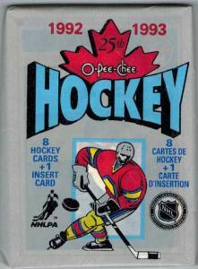 1 Pack 1992-93 O-Pee-Chee