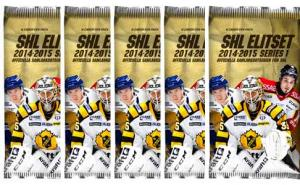 5 Packs 2014-15 SHL s.1