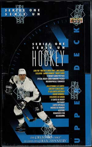 Sealed Box 1993-94 Upper Deck Series 1 Canadian