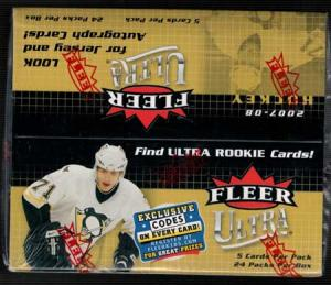 Hel Box 2007-08 Fleer ultra retail