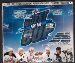Sealed Box 2003-04 Pacific Quest for The Cup Hobby