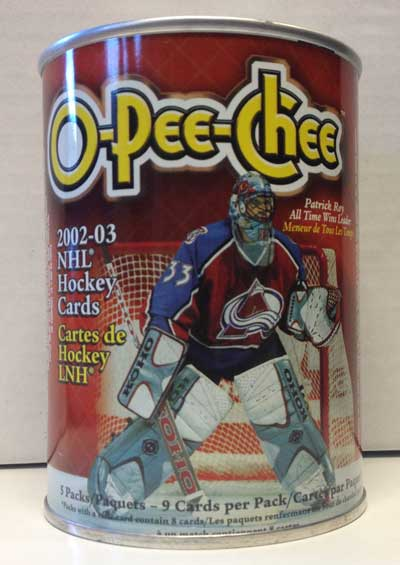 Sealed Box (Tin) 2002-03 O-Pee-Chee Retail (May have some small dent/s)
