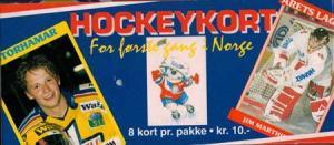 Full box 1992-93 Norweigan Elitserien
